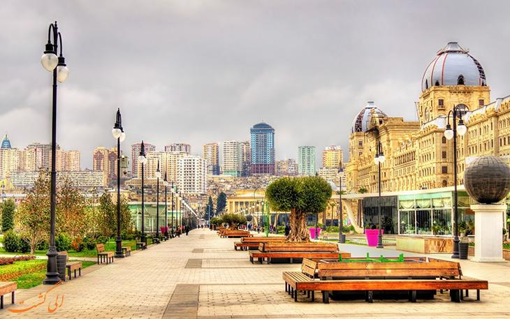 تاریخ شهر باکو در آذربایجان و ماجرای جداییش از ایران