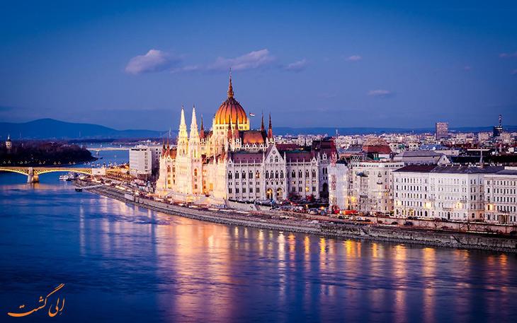 آب و هوای شهر بوداپست
