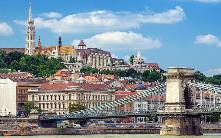 شهر بوداپست در مجارستان