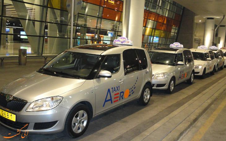 تاکسی در حمل و نقل فرودگاه ایروان