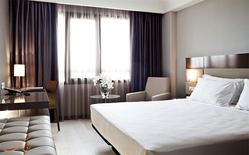 امکانات اتاق های هتل ای سی آلبریا لاس پالماس