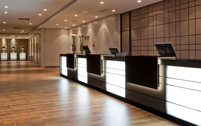 هتل ای سی آلبریا لاس پالماس میز پذیرش