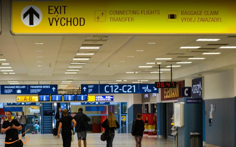 اطلاعات فرودگاه بین المللی پراگ