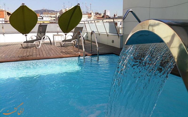 هتل آکو سوئیت بارسلونا- استخر