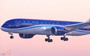 معرفی شرکت هواپیمایی آذربایجان ایرلاینز