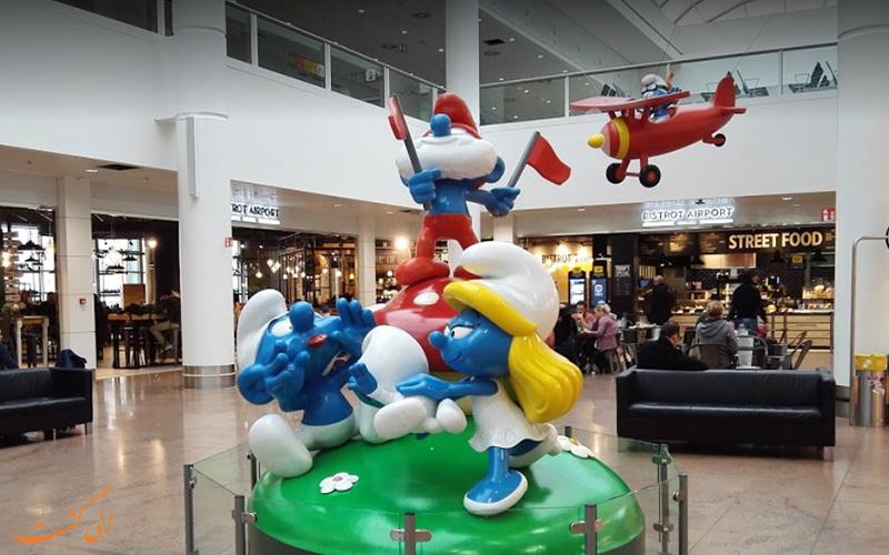 امکانات فرودگاه بین المللی بروکسل
