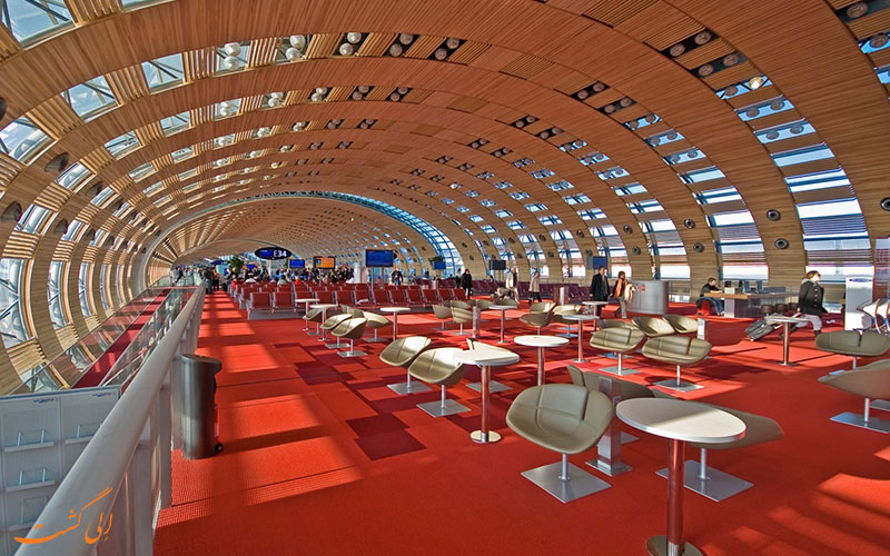 آشنایی با فرودگاه شارل دوگل پاریس