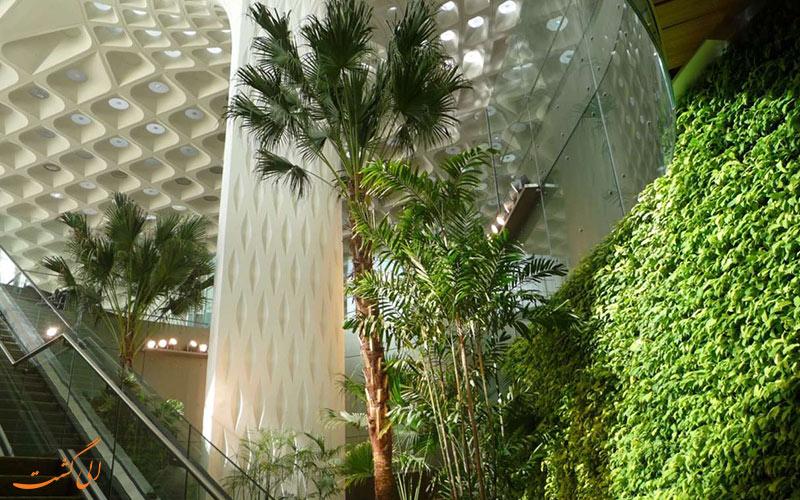 امکانات فرودگاه بین المللی چاتراپاتی شیواجی