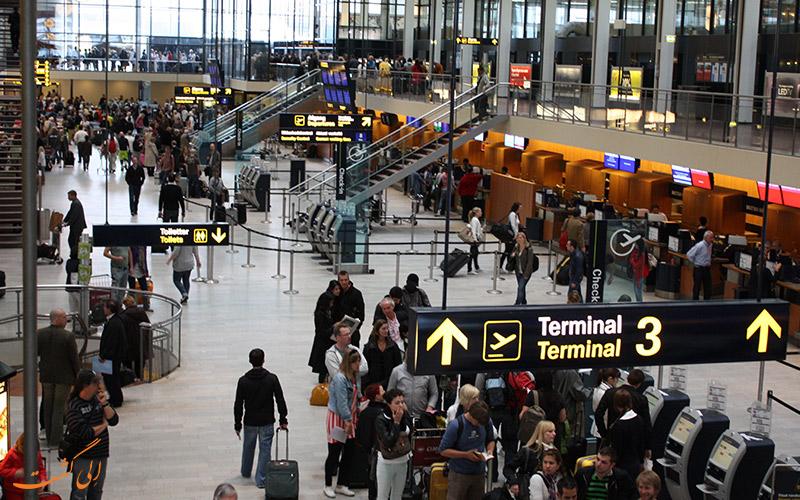 آشنایی با فرودگاه بین المللی کپنهاگ