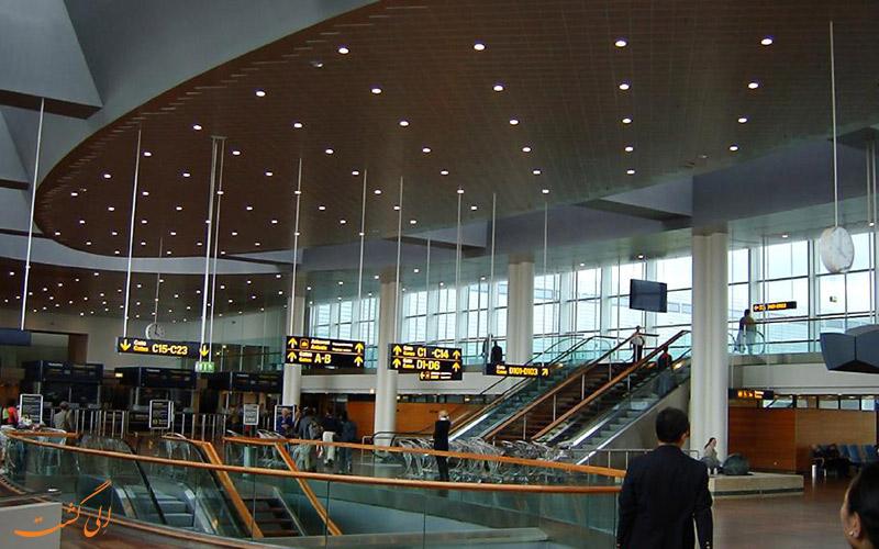 سالن انتظار فرودگاه کپنهاگ