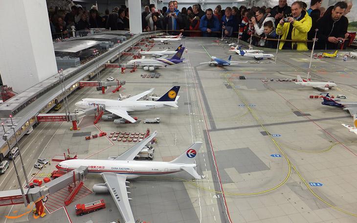 بزرگ ترین فرودگاه مینیاتوری جهان در هامبورگ