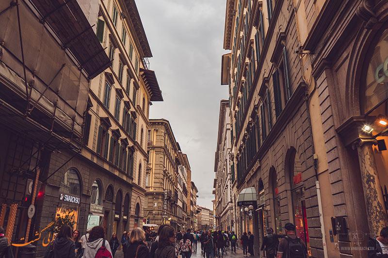 خیابان های فلورانس