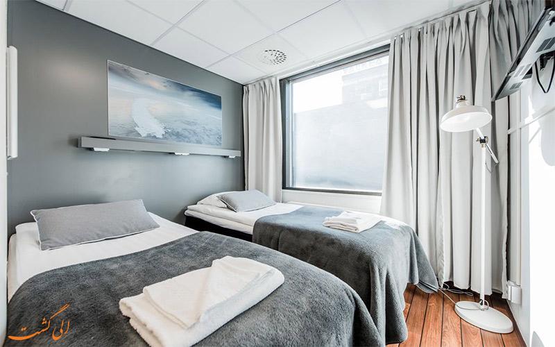 امکانات اتاق های هتل آپارتمان فورنوم اولو- اتاق استاندارد