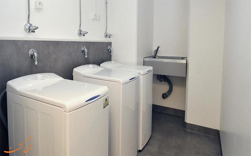 خدمات رفاهی هتل آپارتمان فورنوم اولو- خشکشویی