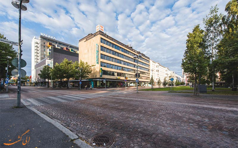 هتل آپارتمان فورنوم اولو Apart Forenom Hotel Oulu