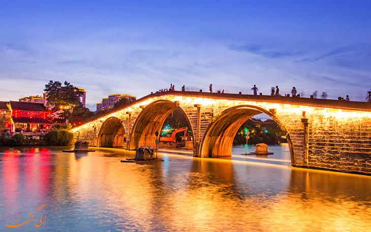مختصری از تاریخ شهر هانگزو