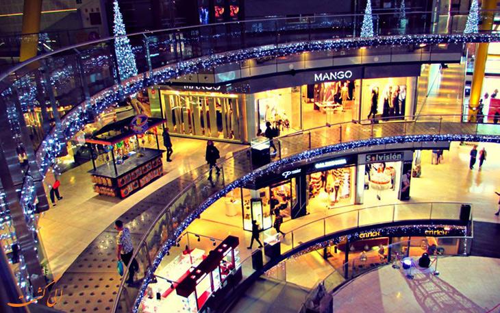 مراکز خرید در شهر بارسلونا