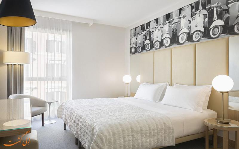 انواع اتاق های هتل ویسکونتی پالاس رم