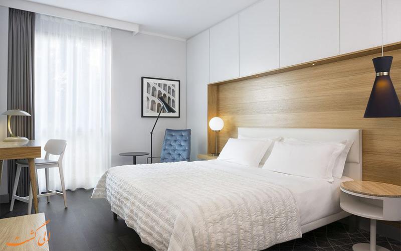 امکانات اتاق های هتل ویسکونتی پالاس رم