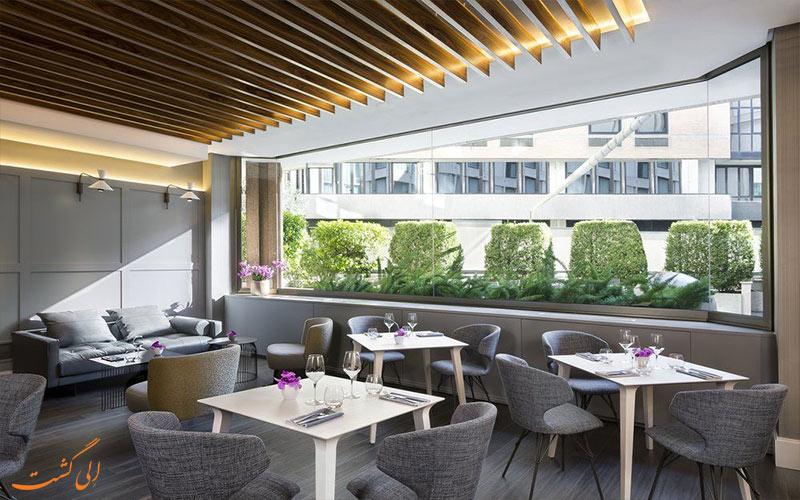 رستوران و لابی- هتل ویسکونتی پالاس رم