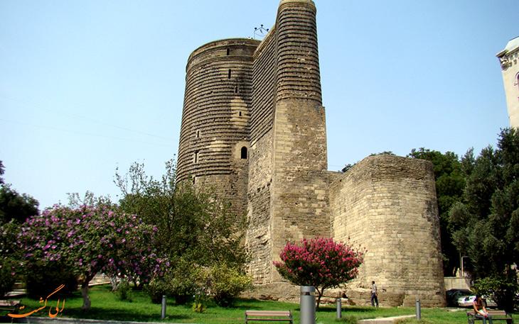 قلعه دختر، اثر به جا مانده از ساسانیان در باکو