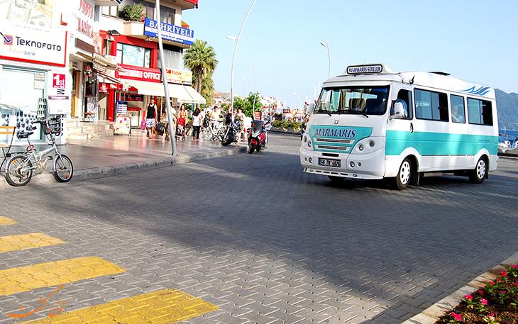 هزینه حمل و نقل در شهر مارماریس