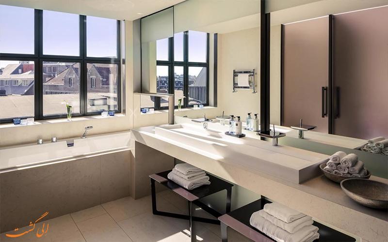 حمام اتاق های هتل ان اچ کالکشن گرند آمستردام