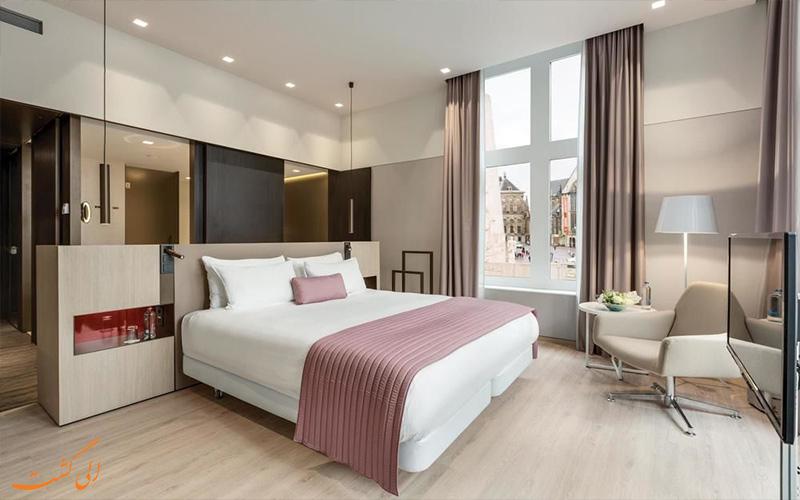 امکانات اتاق های هتل ان اچ کالکشن گرند آمستردام