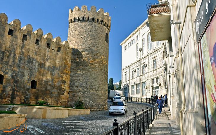 شهر قدیم یکی از دیدنی ترین های آذربایجان