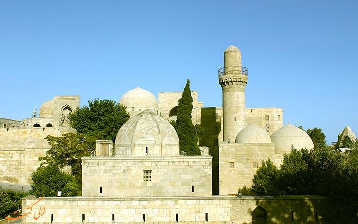 کاخ شیروانشاه از جاذبه های دیدنی باکو