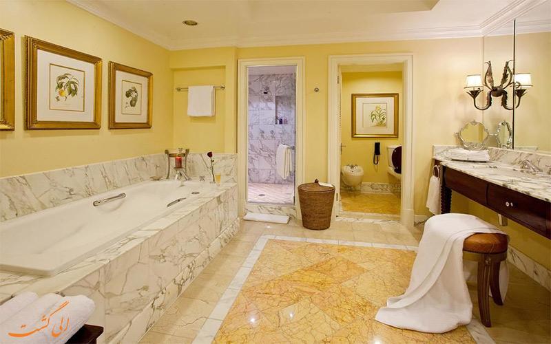 هتل د تیبل بی کیپ تاون- حمام