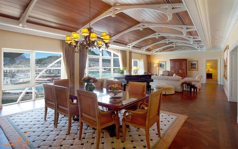 امکانات اتاق های هتل د تیبل بی کیپ تاون