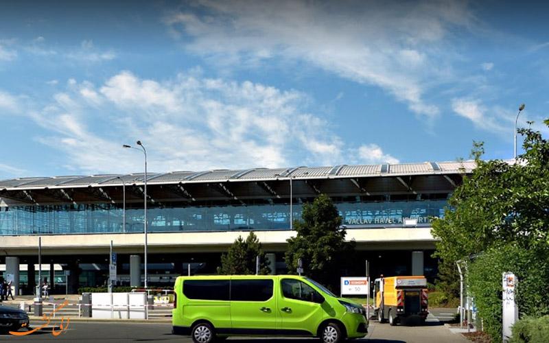 راه های دسترسی به فرودگاه بین المللی پراگ