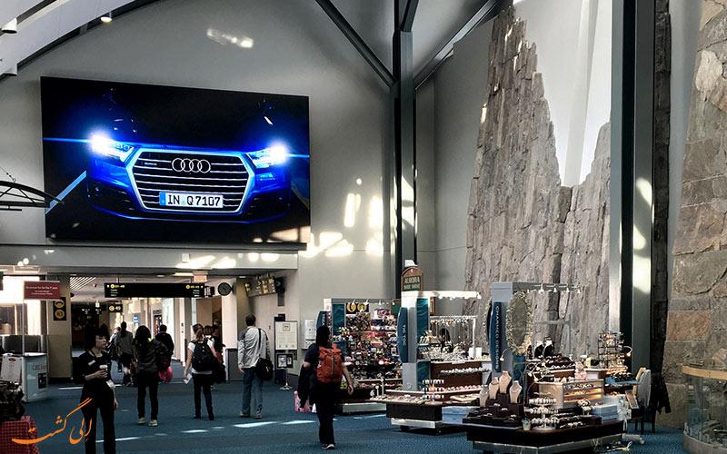 امکانات فرودگاه بین المللی ونکوور