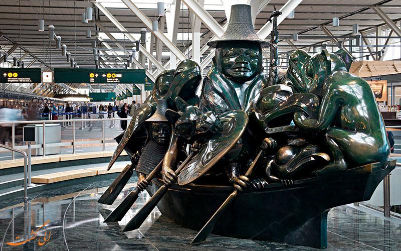 آشنایی با فرودگاه بین المللی ونکور