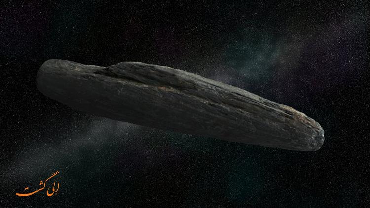 صخره ی مرموز در فضا
