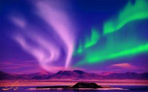 شفق قطبی در دماغه ی شمالی نروژ
