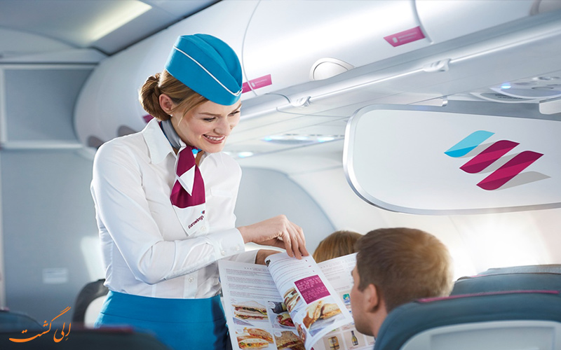 مهمانداران هواپیما-سرگرم کردن مسافران