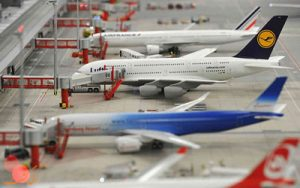 بزرگ ترین فرودگاه مینیاتوری جهان