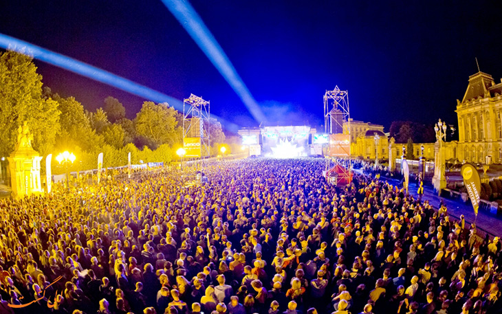 جشنواره های شهر بروکسل در بلژیک