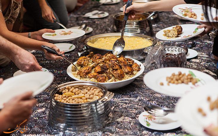هزینه غذا در شهر کبک