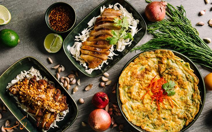 هزینه خورد و خوراک در کشور تایلند