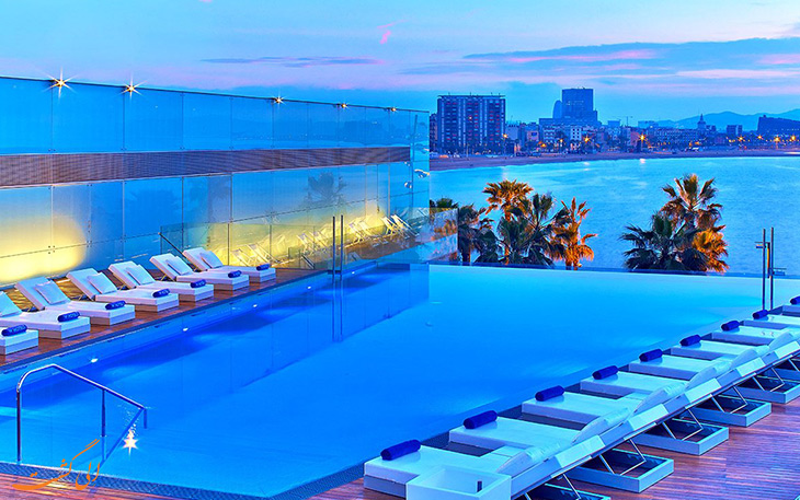 هزینه اقامت در هتل های شهر بارسلونا