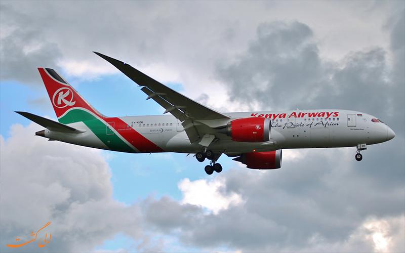 آشنایی با شرکت هواپیمایی کنیا ایر ویز