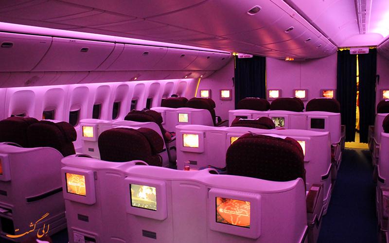 کلاس های پروازی شرکت هواپیمایی کنیا ایر ویز