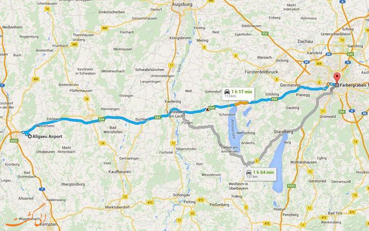 فرودگاه ممینگن آلمان: دورترین فرودگاه های جهان