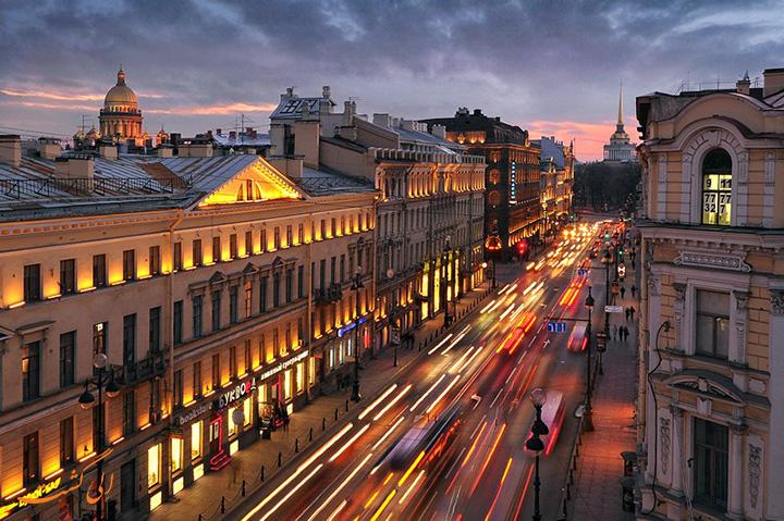 خیابان نوسکی سنت پترزبورگ
