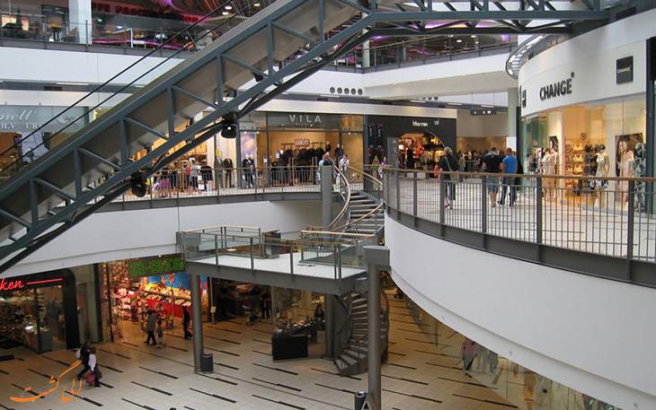 مراکز خرید در شهر کپنهاگ