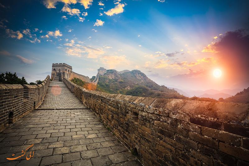 دیوار بزرگ چین در پکن