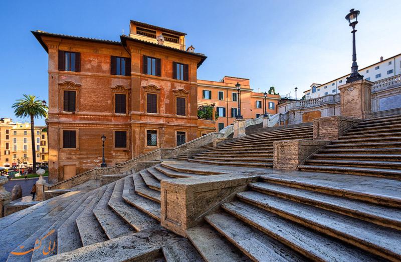 عکس پله های اسپانیایی